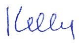 Signature Kelly only